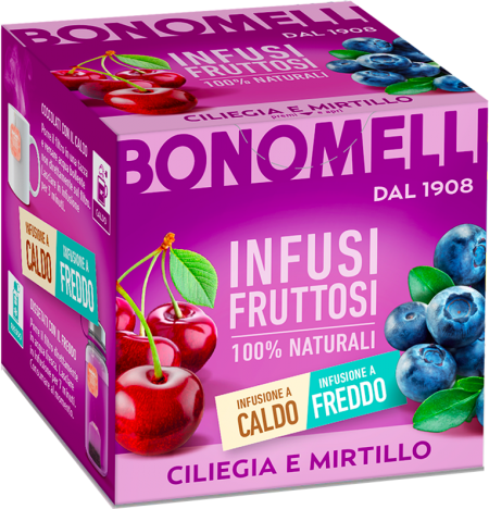 Ciliegia e mirtillo - Bonomelli
