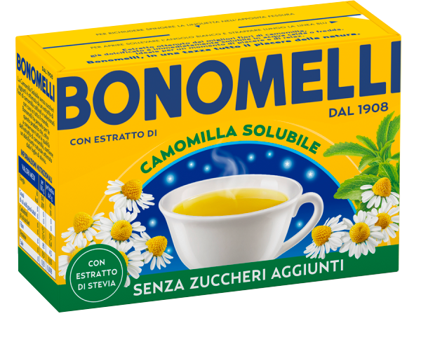Soluble chamomile tea with Stevia - Bonomelli