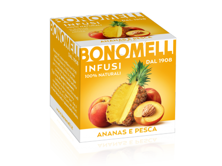 YELLOW with pineapple and peach juice - Bonomelli