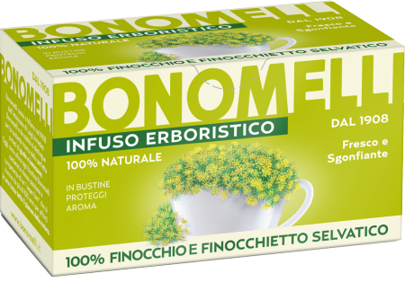 Fennel and Wild Fennel Herbal Tea - Bonomelli