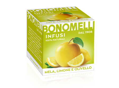 WHITE with lemon peel and seabuckthorn - Bonomelli