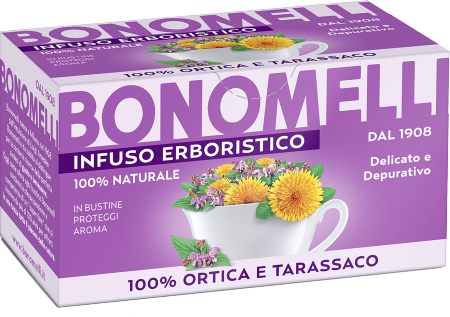 Nettle and Dandelion Herbal Tea - Bonomelli
