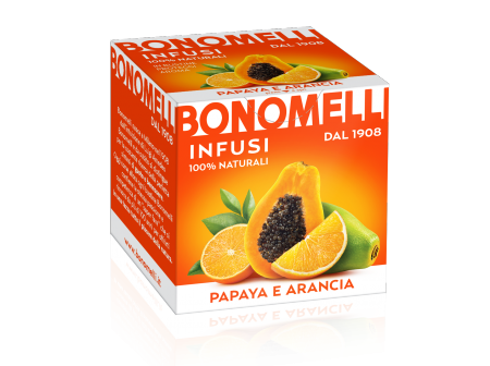 ORANGE with orange peel and papaya juice - Bonomelli