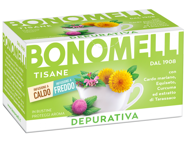 Cleanse wellness tea - Bonomelli