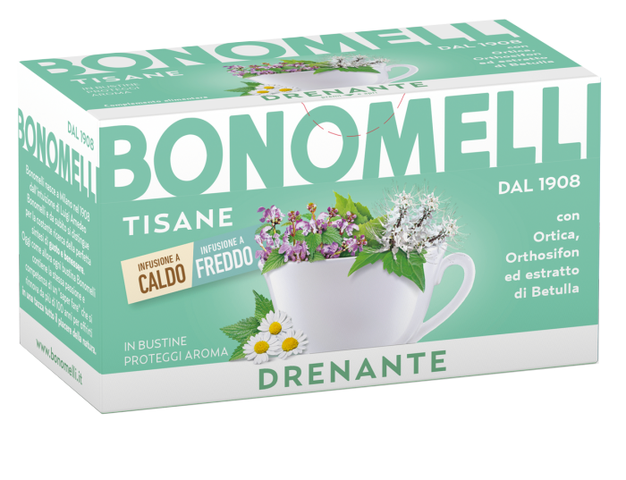 Draining wellness tea - Bonomelli