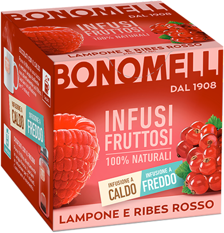 RED with raspberry and red currant - Bonomelli