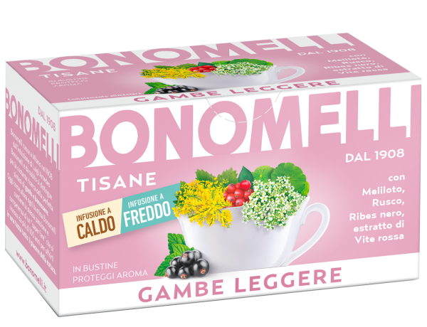 Leg Restoring wellness tea - Bonomelli