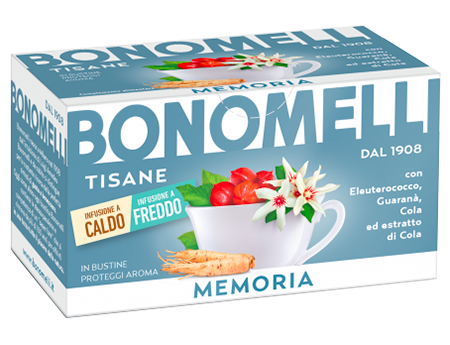 Memory wellness tea - Bonomelli