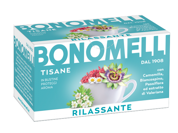 Relaxing wellness tea - Bonomelli