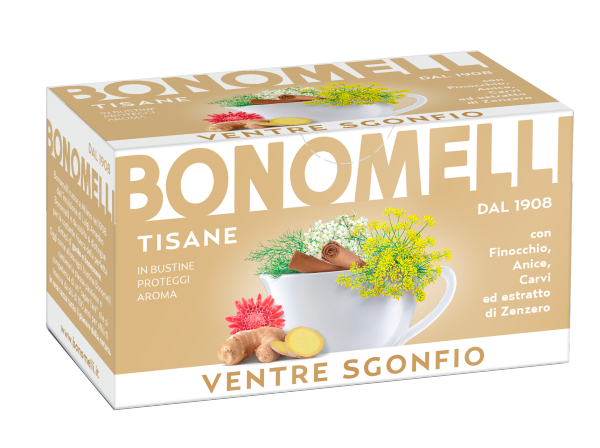 Abdominal Relief wellness tea - Bonomelli