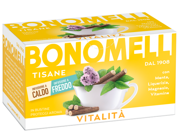 Vitality wellness tea - Bonomelli